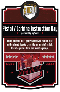 SOC-F Pistol & Carbine Instruction Day